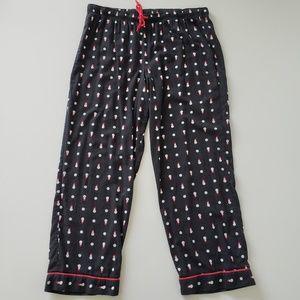 Victoria's Secret Snowman Pajama Pants Women's XL